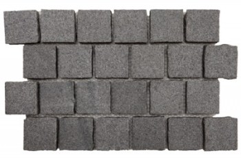 Granite - Sentry Exfoliated Cobble on mesh