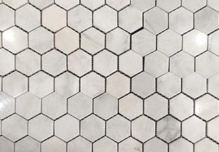 Helsinki Small Hexagon Polished Marble