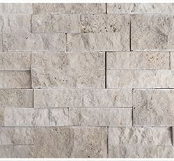 Nougat stackstone cladding travertine