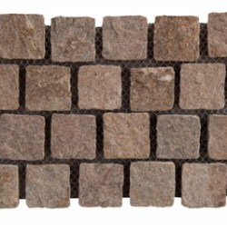 Quartzite - Dragonskeep interlocking cobble on mesh