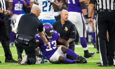 The injury concern with Dalvin Cook is very real
