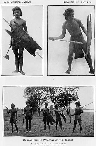 Plates from Kriegers Weapons and Armor of the Philippine Islands 1926