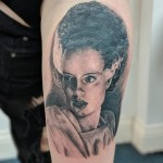 Realistic portrait tattoo
