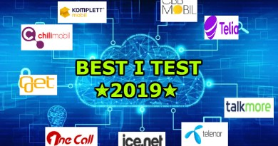 Mobilabonnement best i test 2019