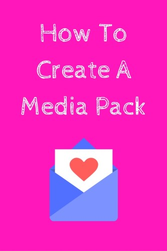 How To Create A Media Pack