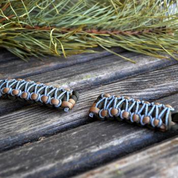 Фото браслет из паракорда для часов плетением кобра