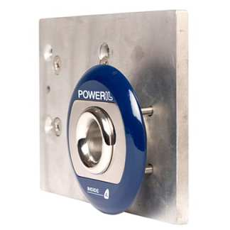 Skrovgenomföring PowerIL Inside komplett 1000 W blå ring