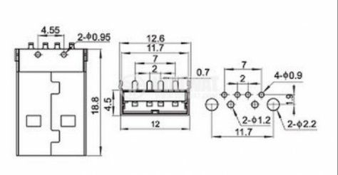 Din Connector Dimensions, Din, Free Engine Image For User