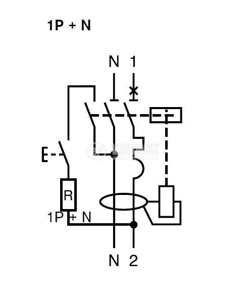 Residual Current Device DPNa Vigi 1P+N 25A 30mA A9D34625