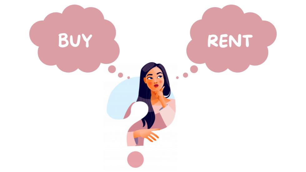 Buy or Rent blog image for viknick website