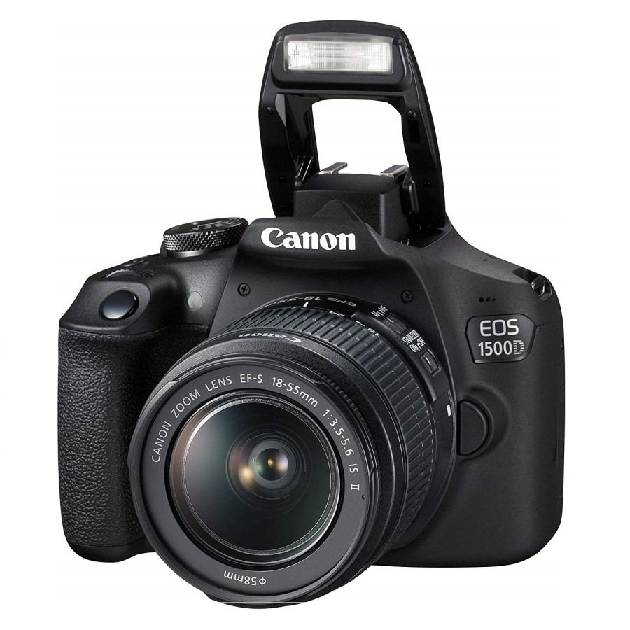 Canon EOS 1500D with EF S18-55 IS II Lens
