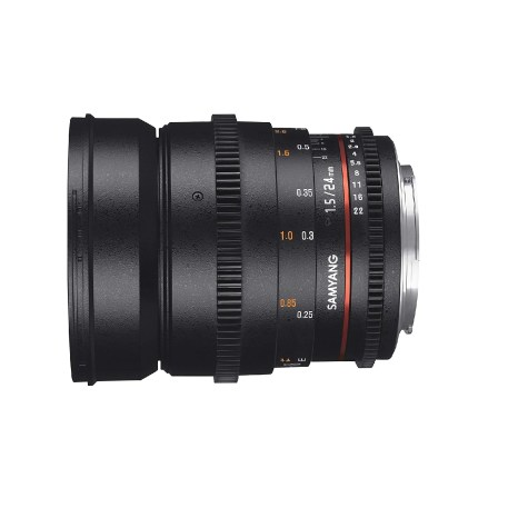 Samyang 24mm T1.5 Lens Pic1