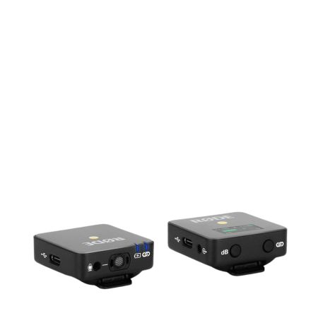 Rode Wireless Go - Compact Wireless Microphone System, Transmitter and Receiver3
