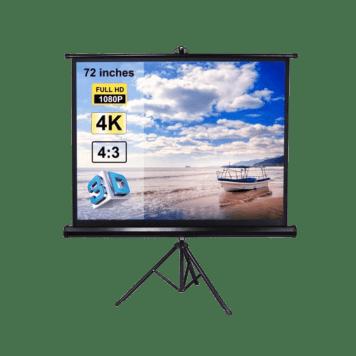 Projector Screen 4x6 feet