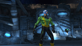 Screenshot: Electro Marvel Contest of Champions
