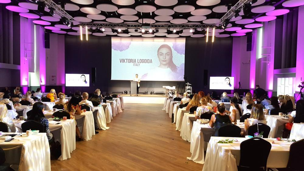 viktoria logoida congresso trucco permanente Tallin