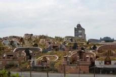 a cemetery/ кладбище