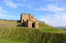 Castle at the Tynemouth Beach