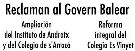RECLAMAN MEJORAS CENTROS EDUCATIVOS