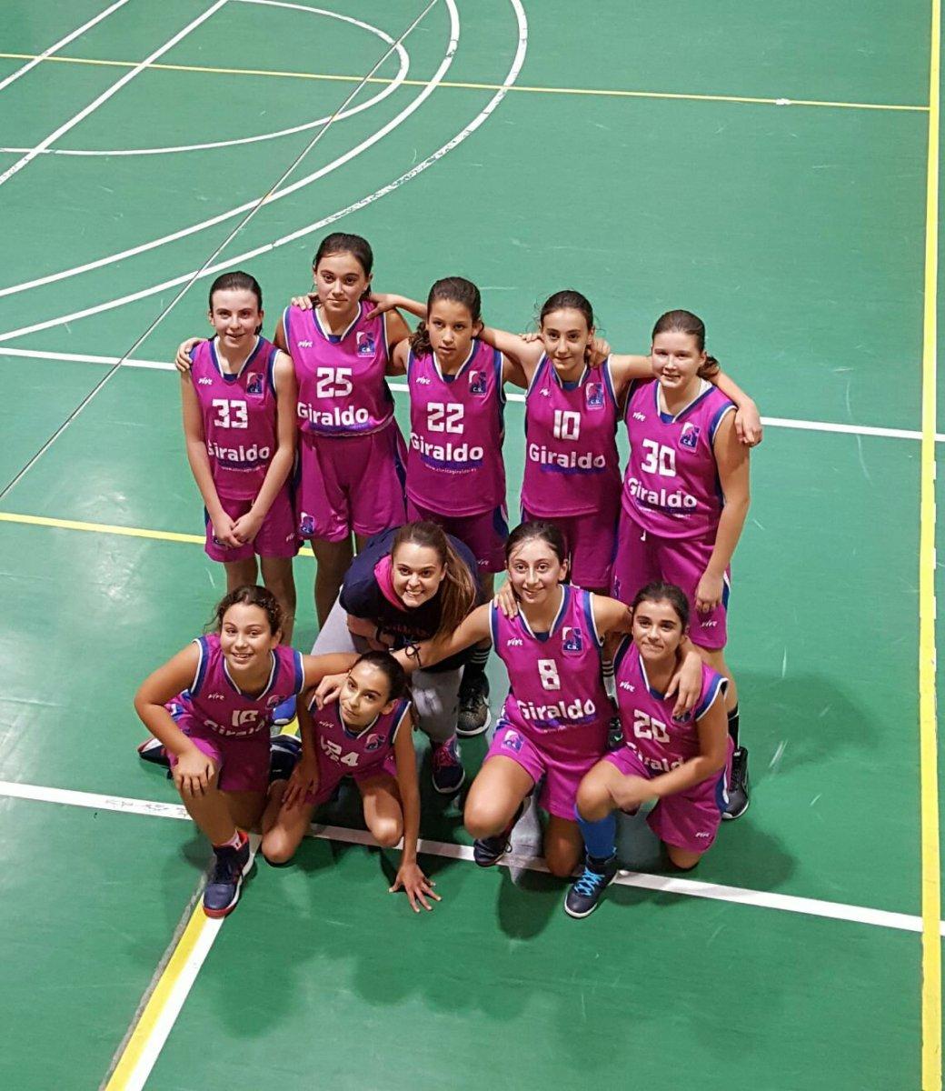 El infantil Pink suma nueva nueva victoria en Pontevedra