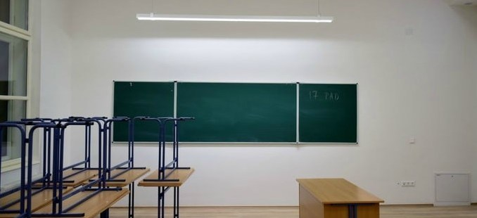 LED világítás az oktatásban irodában