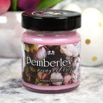 Pemberley virágoskertje – szójaviasz gyertya