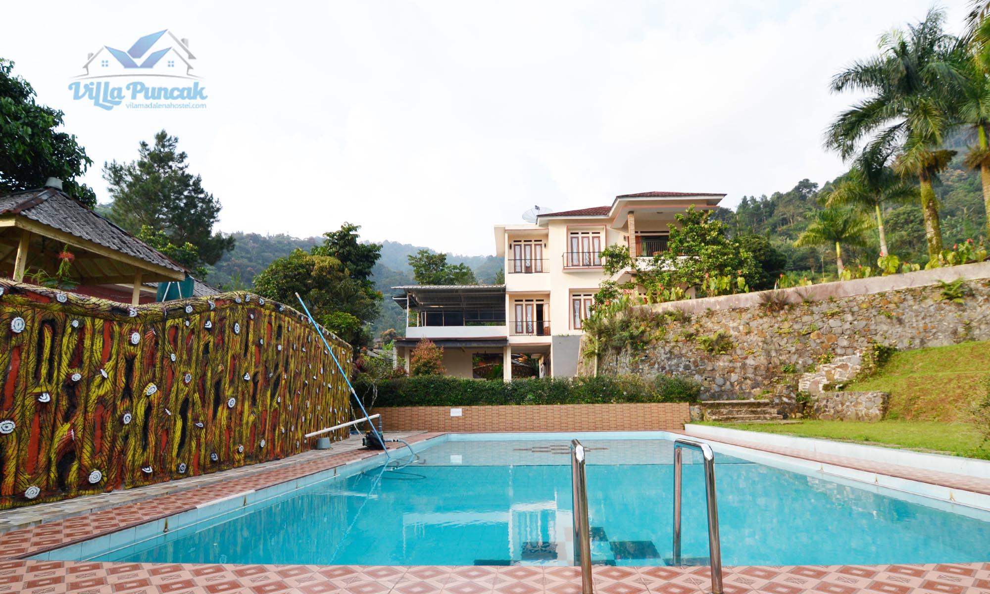 Villa Dimara Villa Dekat Curug Cilember Dengan Desain