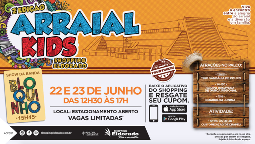 arraial kids shopping eldorado