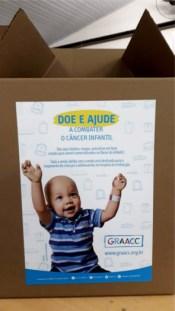 Projeto Ação na Vila arrecada doações para GRAACC 1