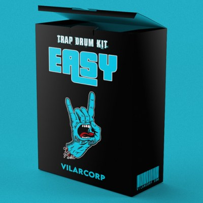 EASY Free Trap Drum Kit by VILARCORP