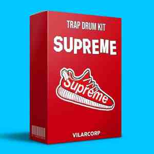 SUPREME Trap Drum Kit by VILARCORP