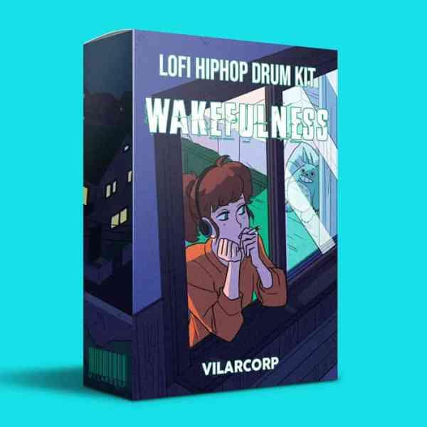WAKEFULNESS Lofi HipHop Drum Kit by VILARCORP - Free Download lofi Drum Kit