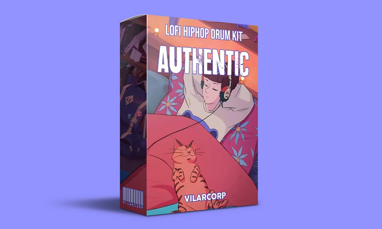 AUTHENTIC LoFi Hip Hop Drum Kit by VILARCORP