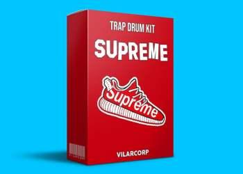 SUPREME Trap Drum Kit by VILARCORP