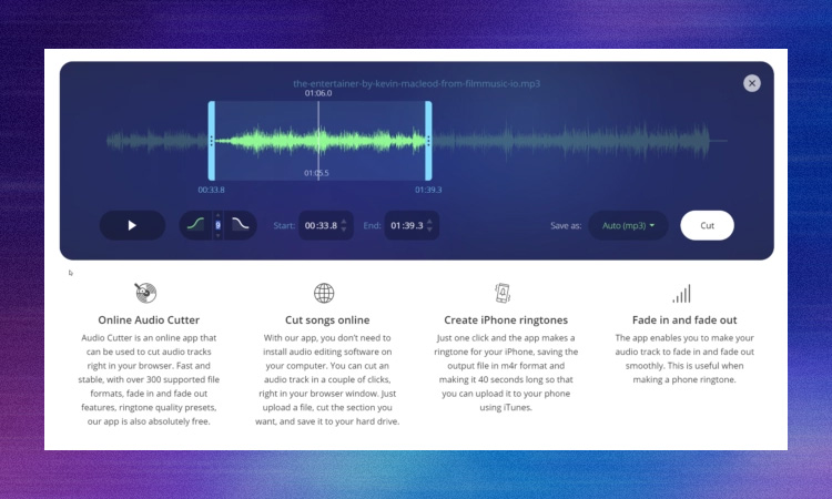 Free Download Audio Cutter Pro