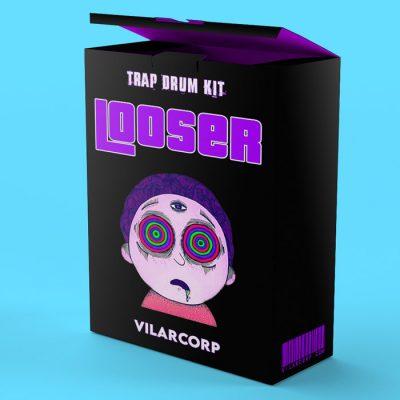 LOOSER FREE LoFi Trap Drum Kit by VILARCORP