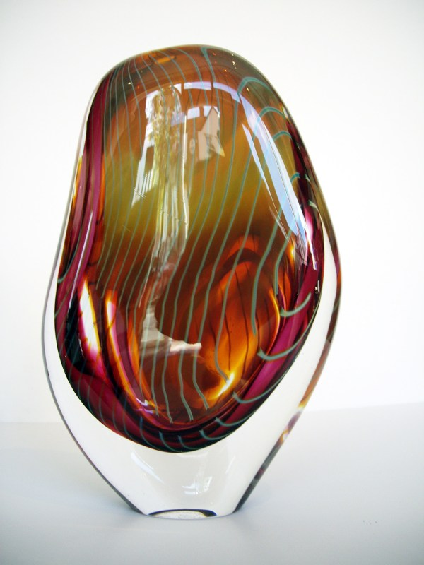 David Flower Contemporary Studio Glass Artist