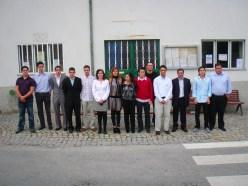 Equipe diretiva do Centro cultural na festa dos 25 anos