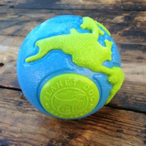 Planet Dog Orbee Ball BlueGreen