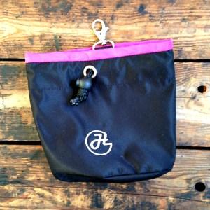 bild på HelsiTar Treat Bag Svart-rosa