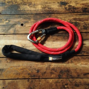 Ruffwear Knot-a-leash Large Red Currant hundkoppel