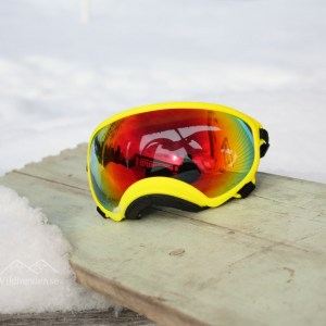 Rex specs Yellow red revo