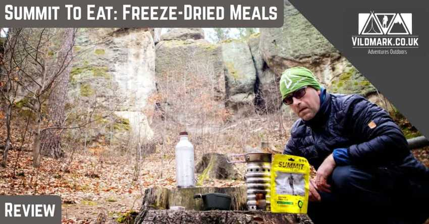 Summit to eat Freeze-dried Meals.