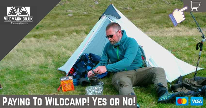 paying to wildcamp in the uk