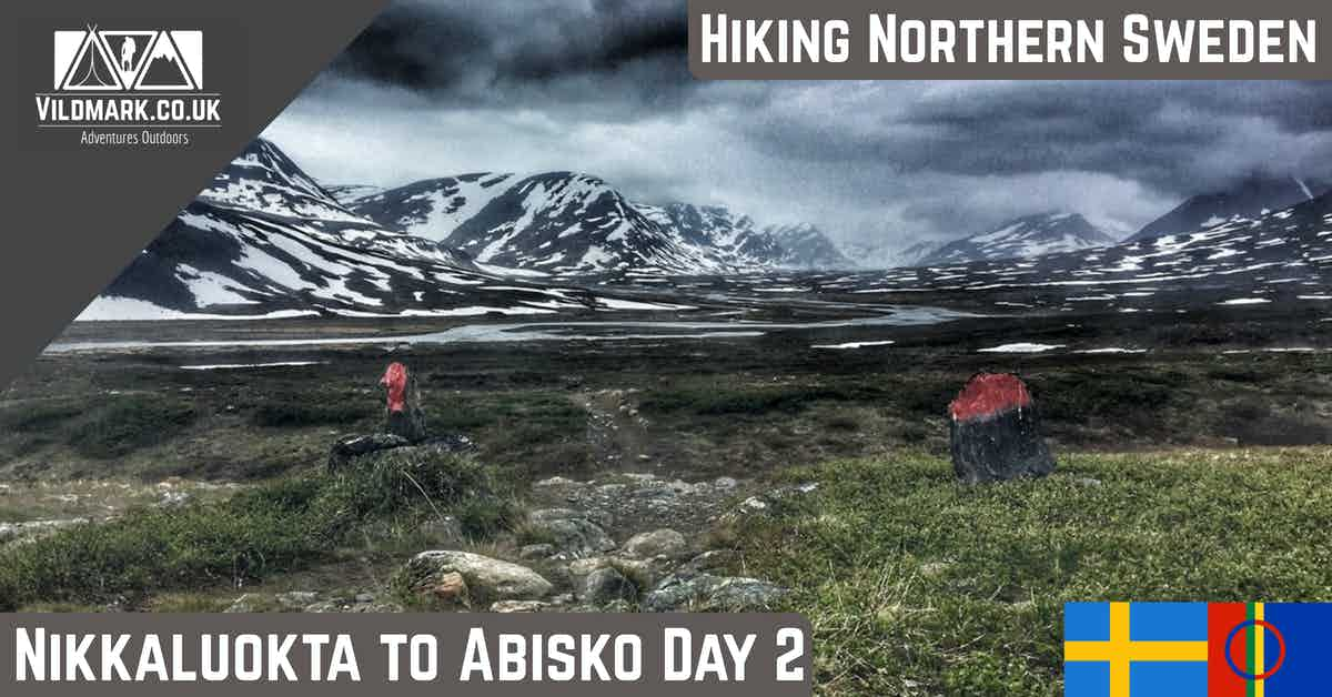nikkaluokta to abisko hiking