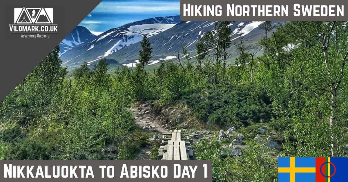 hiking nikkaluokta to abisko