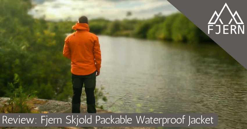Fjern Outdoors Skjold waterproof jacket