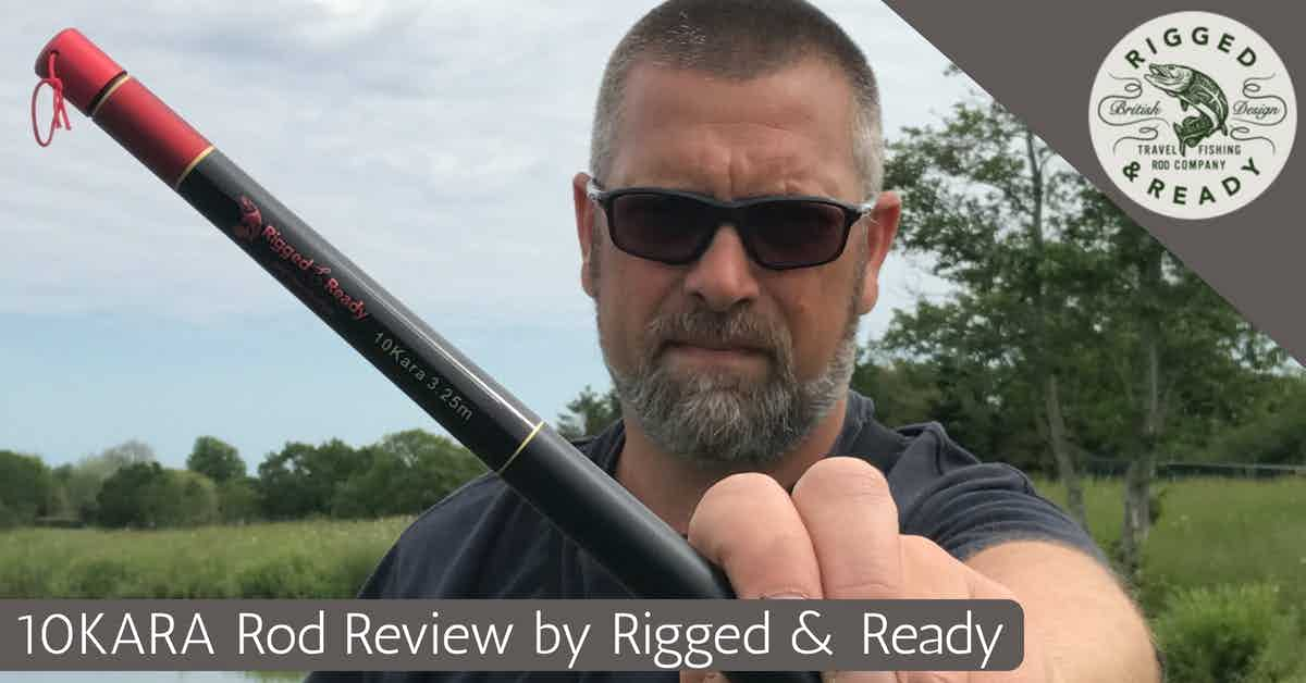 tnekara fishing rod by rigged and ready