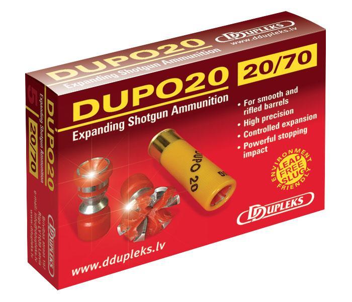 Expanderande slugs Dupo 21 gram 20/70 - Slugs - Gevär ...