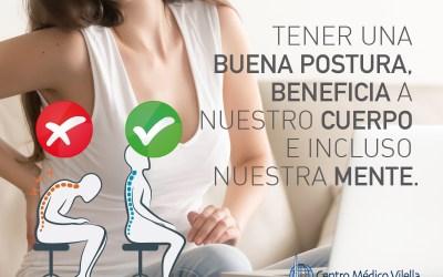 Buena postura corporal esencial para nuestra salud